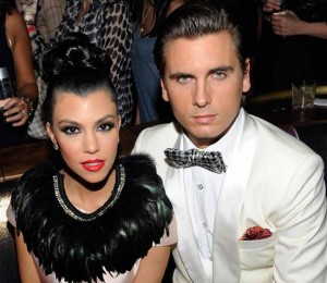 Kourtney Kardashian and Scott Disick getting divorced