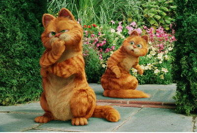 garfield tale of two kitties